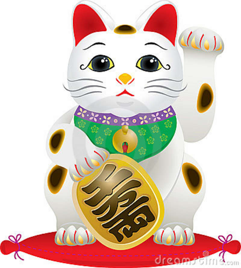 Lucky Cat Clipart.