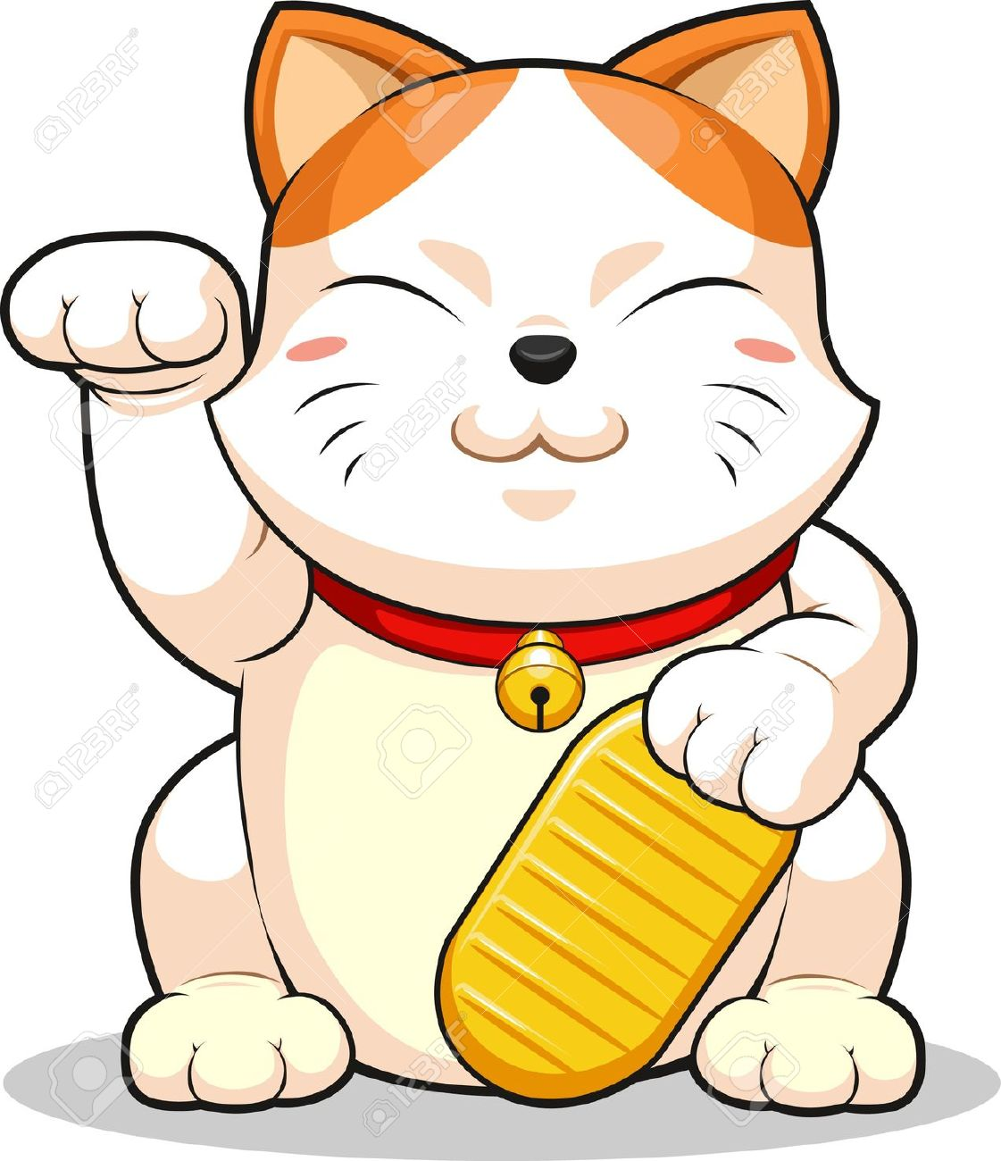 Lucky Cat (Makeni Neko) Royalty Free Cliparts, Vectors, And Stock.