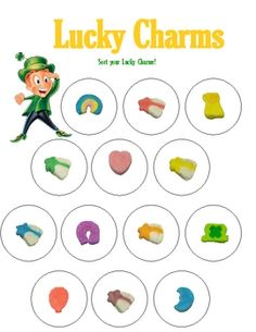 Lucky charms cereal clipart.