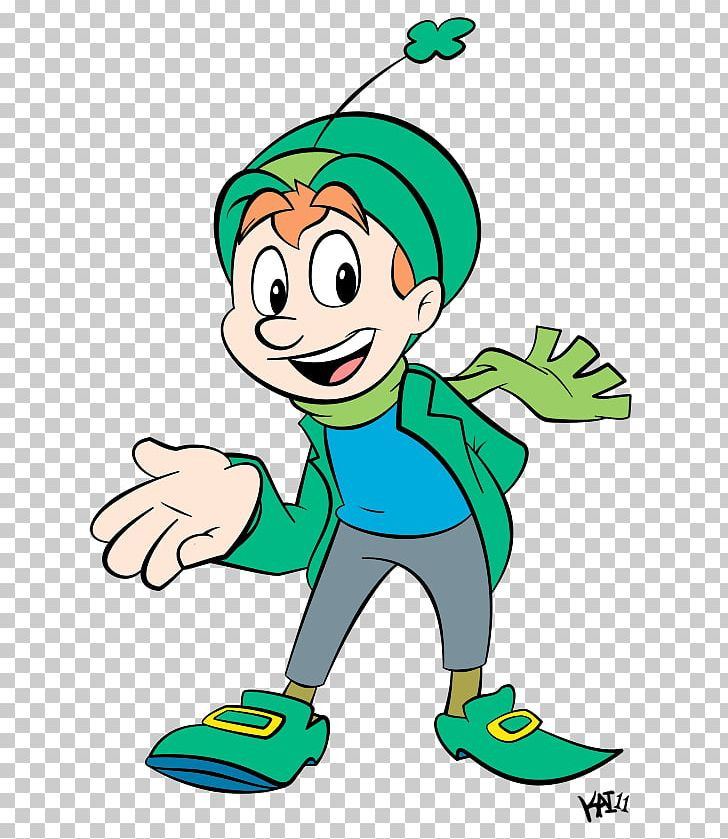 Breakfast Cereal Lucky Charms Leprechaun Animation PNG.