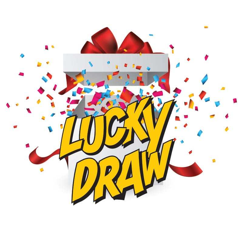 Lucky Draw Box Clipart.
