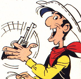 All Cliparts: Lucky Luke Clipart.