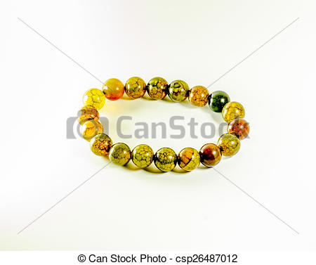 Stock Photography of Lucky stone gem for the gamble on white.