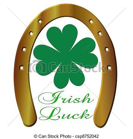 Good Luck Symbols Clipart.
