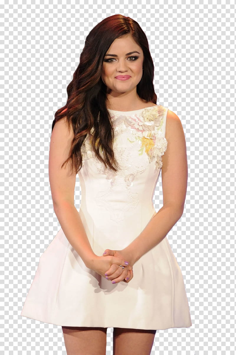 Lucy Hale transparent background PNG clipart.