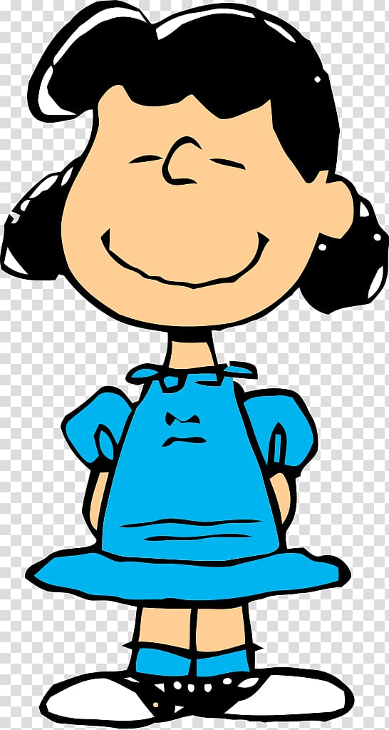 The Peanuts character illustration, Lucy van Pelt Charlie.