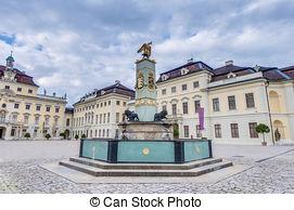 Stock Photo of Ludwigsburg Palace,Germany.
