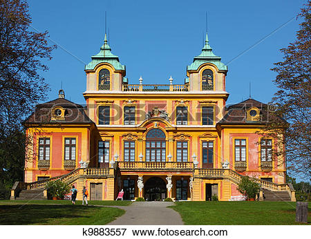 Picture of Schloss Favorite in Ludwigsburg.Baden.