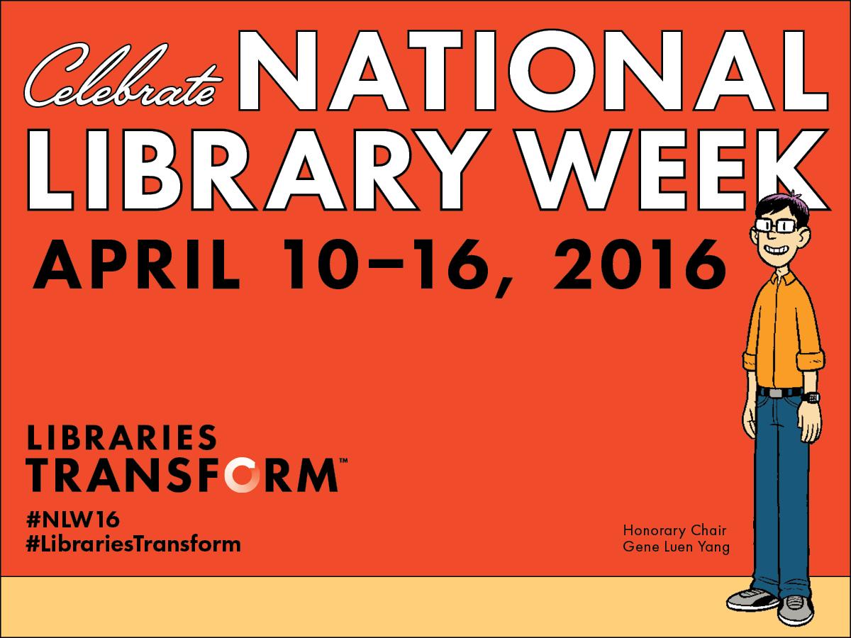 Library Week Clip Art.