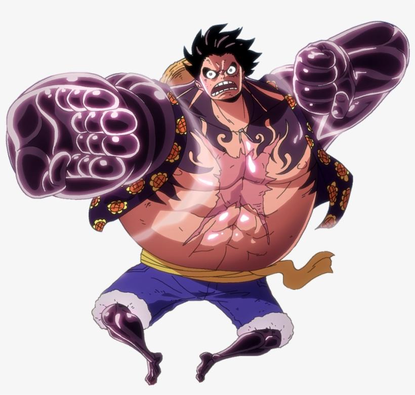 Gear Fourth Luffy.