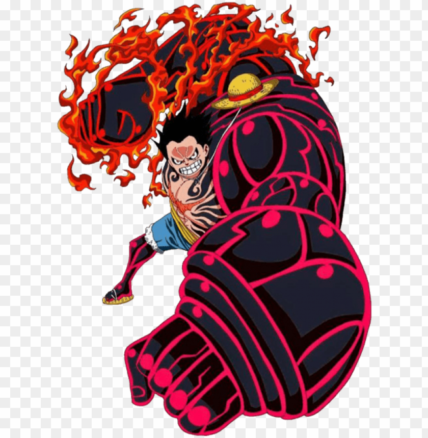 luffy gear 4 png.