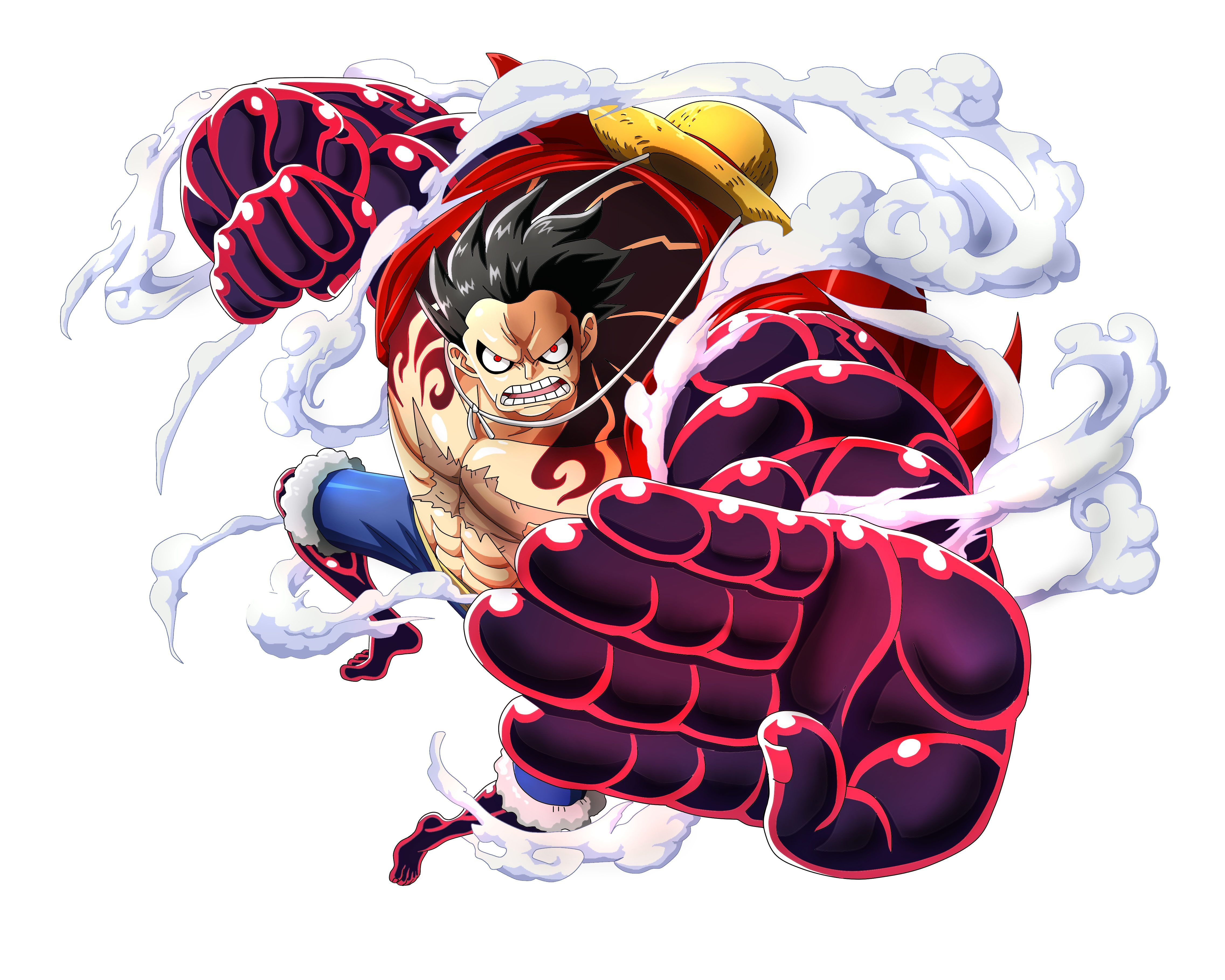 Luffy Gear Fourth Wallpapers.