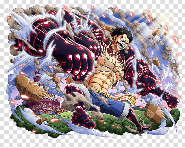 Monkey D Luffy Gear Bound Man, One Piece Monkey D. Luffy.
