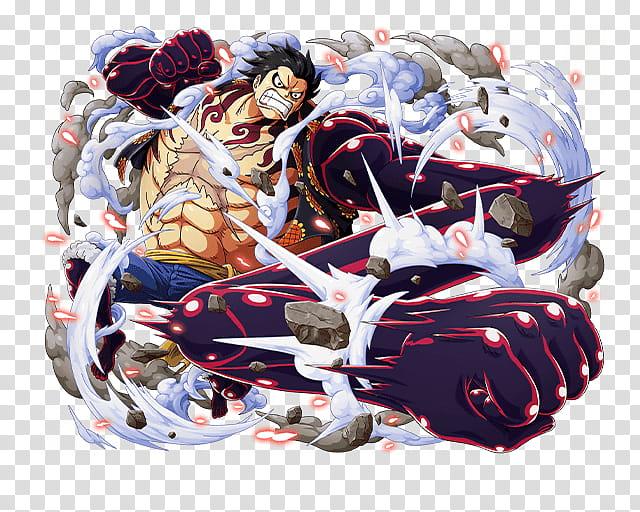 Monkey D Luffy Gear Bound Man, One Piece Luffy transparent.