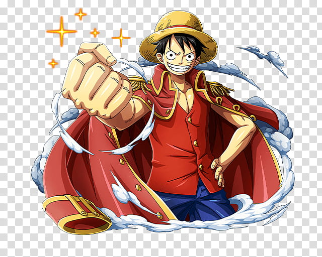 MONKEY D LUFFY, One Piece character transparent background.