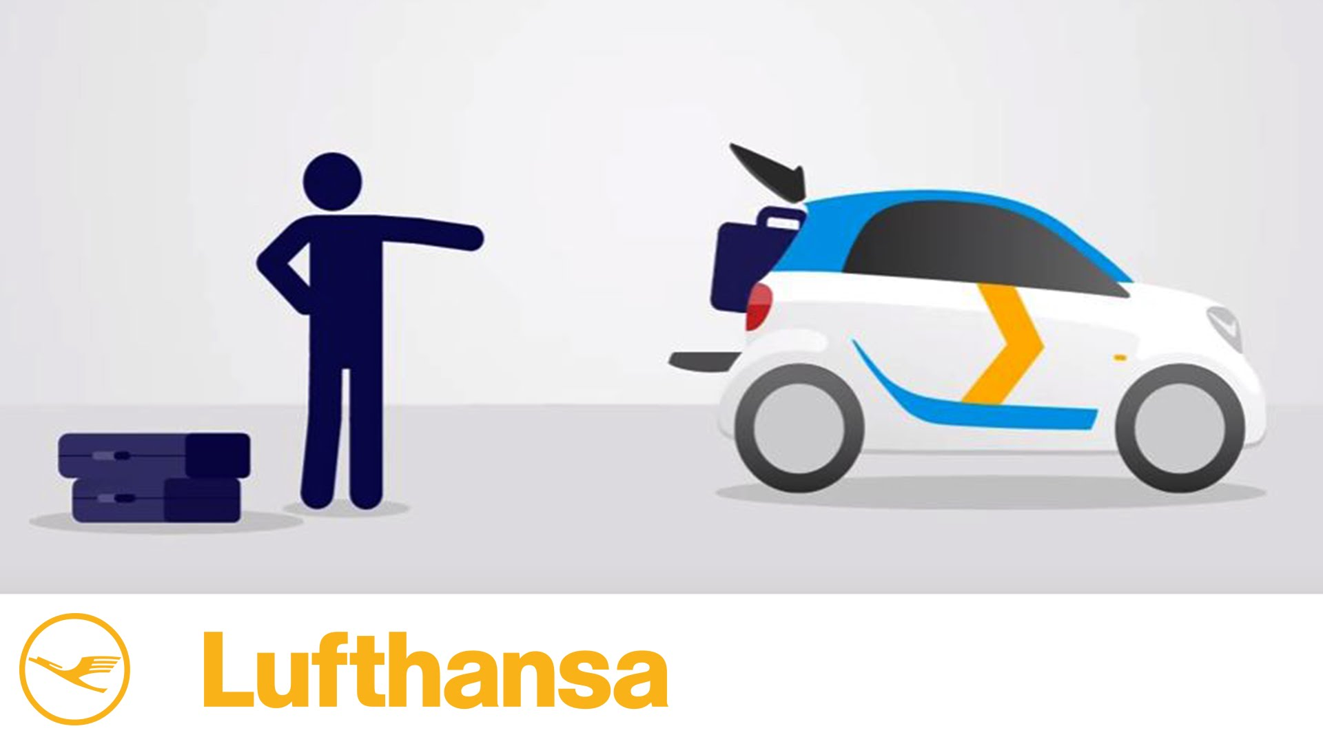 How to: Lufthansa Express Carsharing in cooperation with car2go.