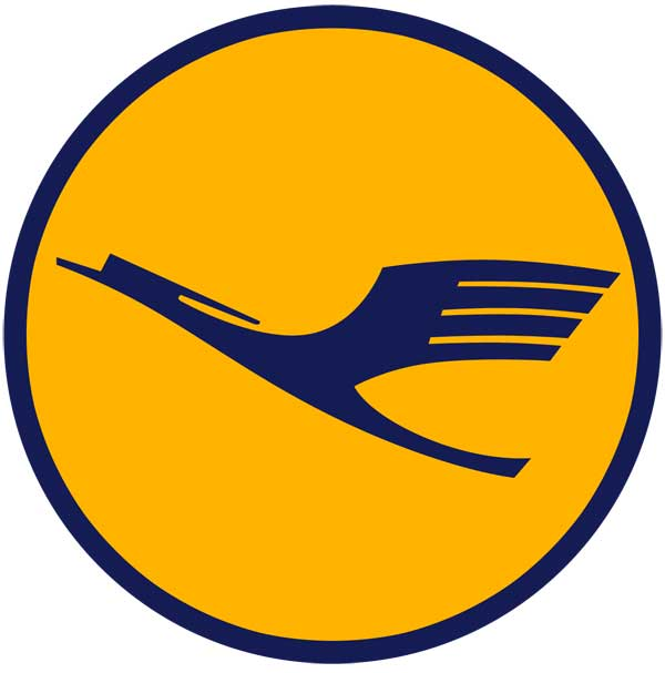 Lufthansa and the history of the Lufthansa logo.