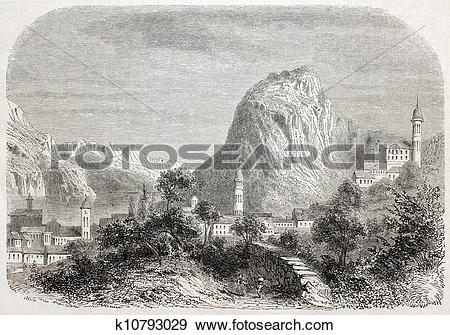 Stock Illustration of Lugano k10793029.