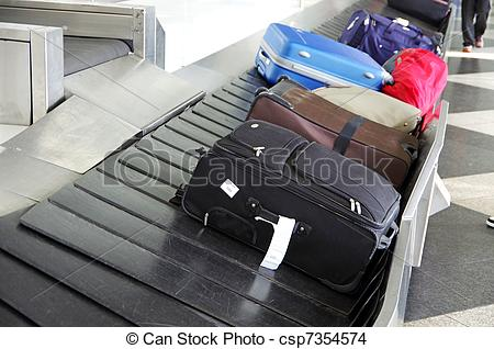 Stock Photo of luggage.