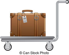 Luggage cart Illustrations and Clipart. 1,706 Luggage cart royalty.