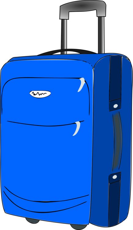 Blue,Hand Luggage,Electric Blue PNG Clipart.