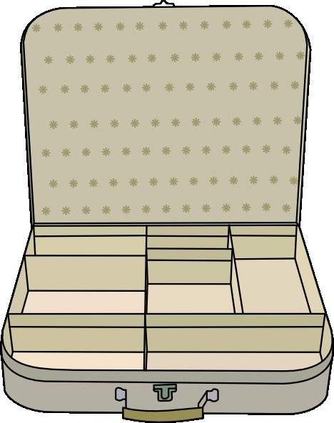 Suitcase Clip Art at Clker.com.