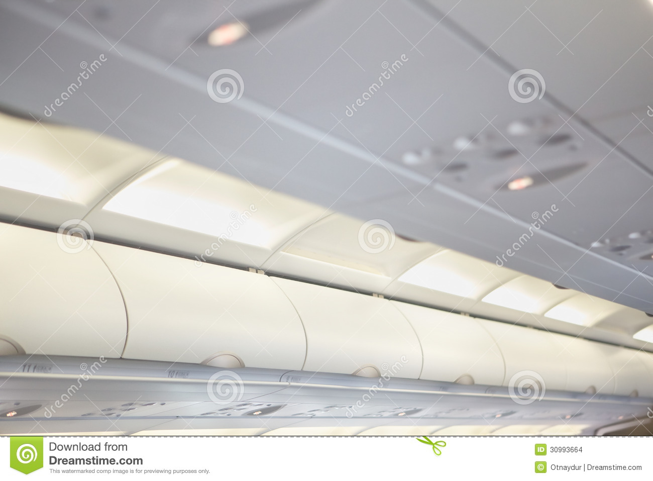 Luggage plane clipart overhead.