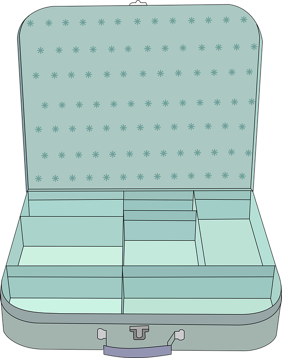 Free vector graphic: Suitcase, Empty, Luggage, Tourist.