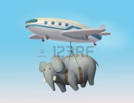 Elephant luggage clipart.