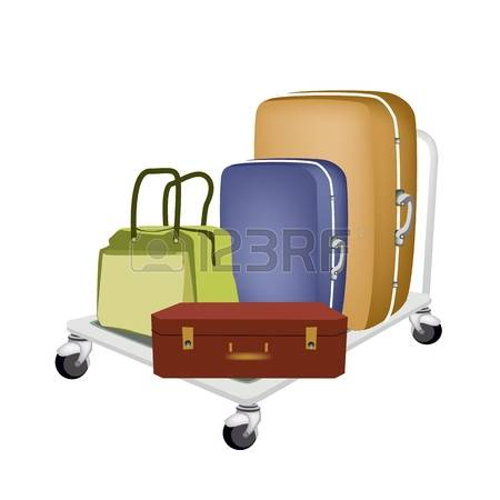 129 The Luggage Compartment Stock Vector Illustration And Royalty.