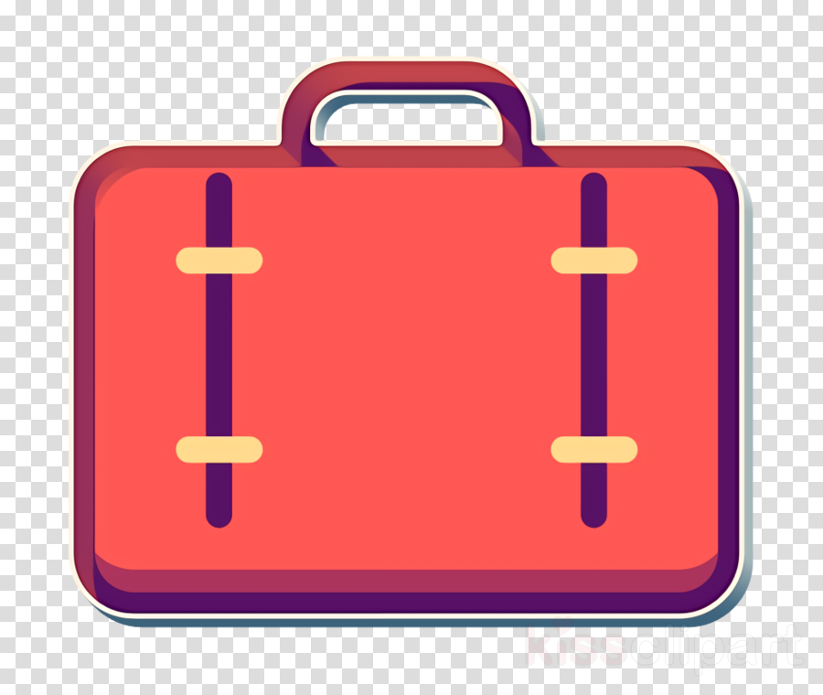 bag icon luggage icon outline icon clipart.