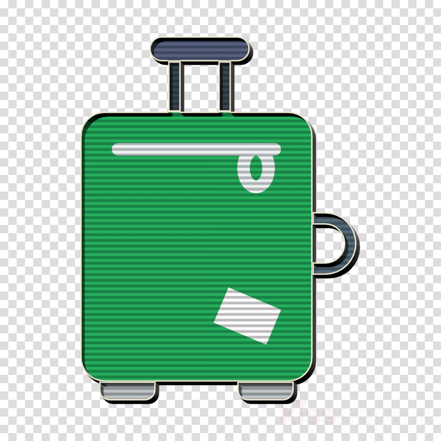Luggage icon Travel icon clipart.
