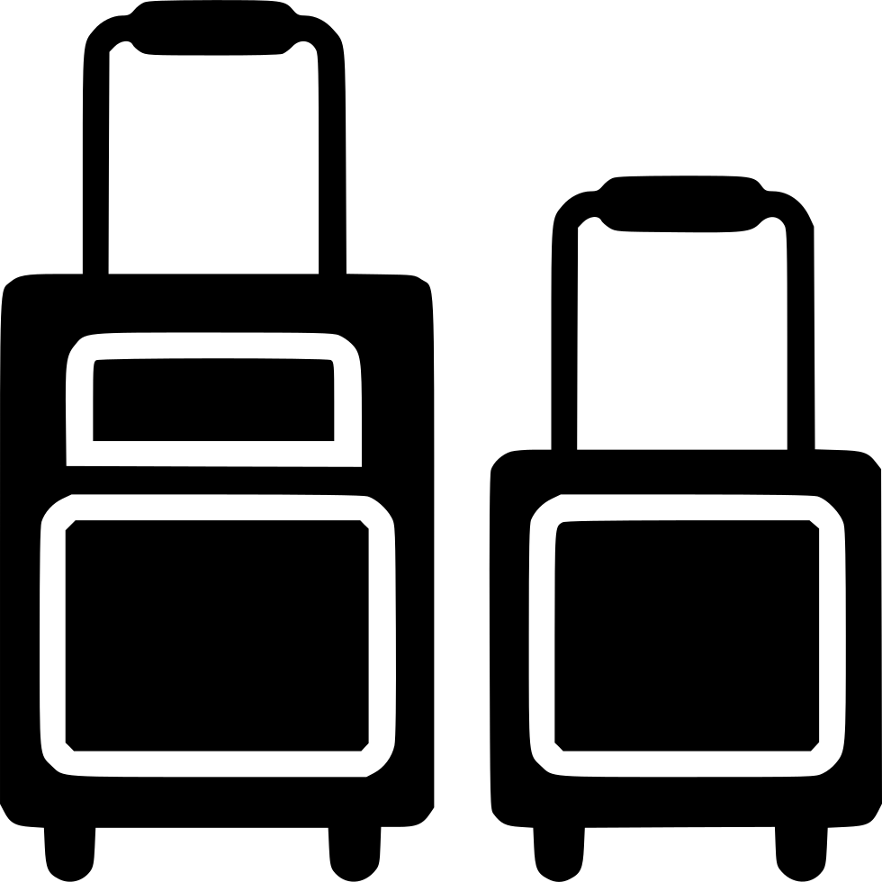Suitcase Bag Carry On Luggage Svg Png Icon Free Download.