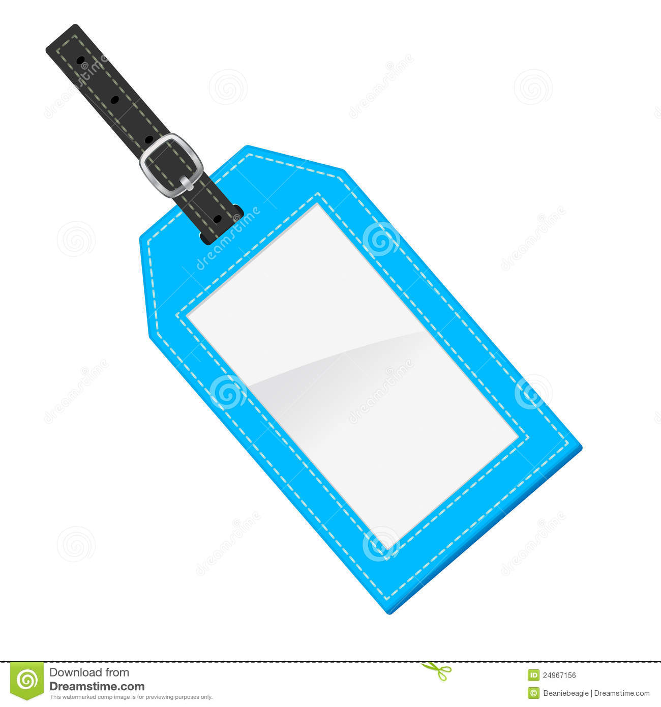 Luggage Tag stock vector. Illustration of background.
