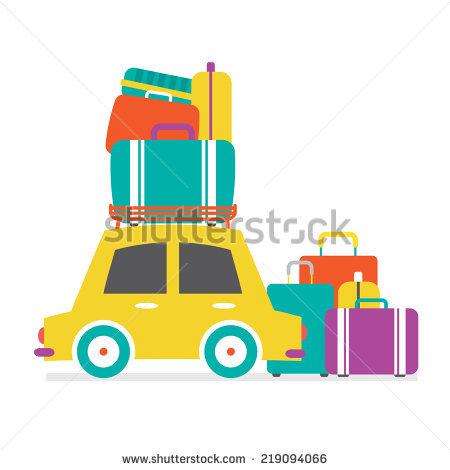 Car Luggage Stock Photos, Royalty.