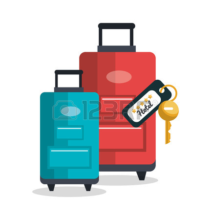 Luggage Transport Service Isolated Icon Vector Illustration Design.