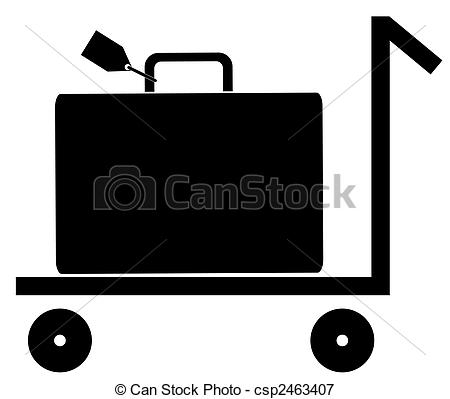 Baggage cart Illustrations and Clipart. 814 Baggage cart royalty.