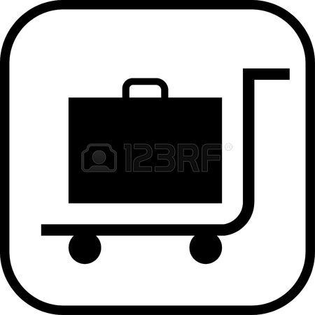 2,813 Luggage Trolley Cliparts, Stock Vector And Royalty Free.