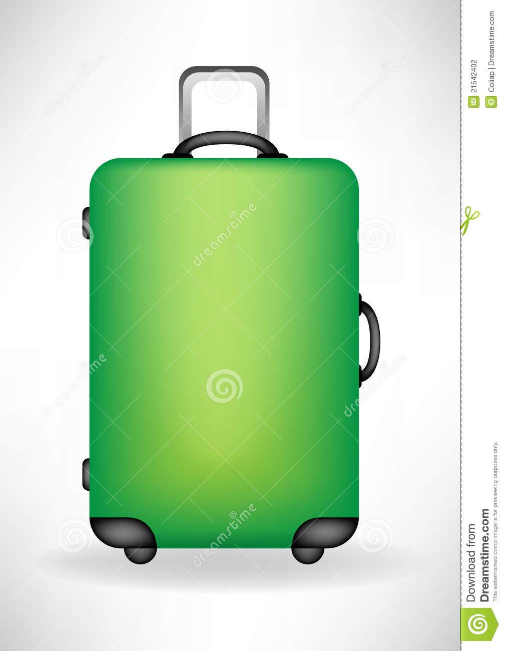 Travel Suitcase Clip Art.
