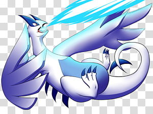 Lugia transparent background PNG cliparts free download.