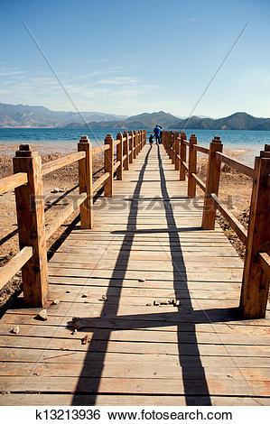 Stock Images of China, Lugu Lake scenery k13213936.