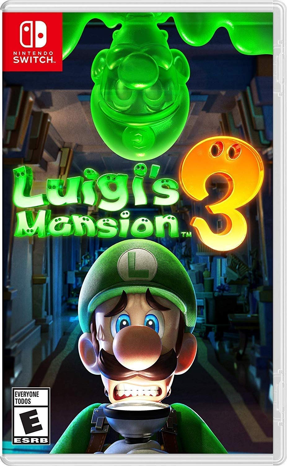 Amazon.com: Luigi\'s Mansion 3.