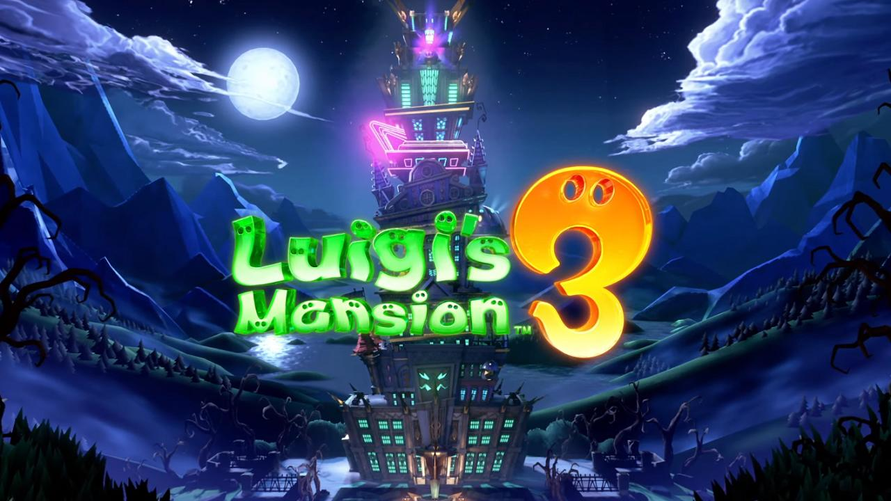 Luigi\'s Mansion 3 release date announced, arriving October.