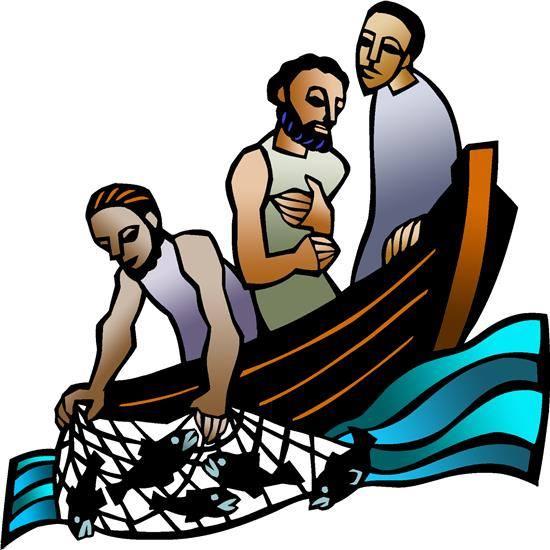"A Big Fish."" Based on Luke 5:1."