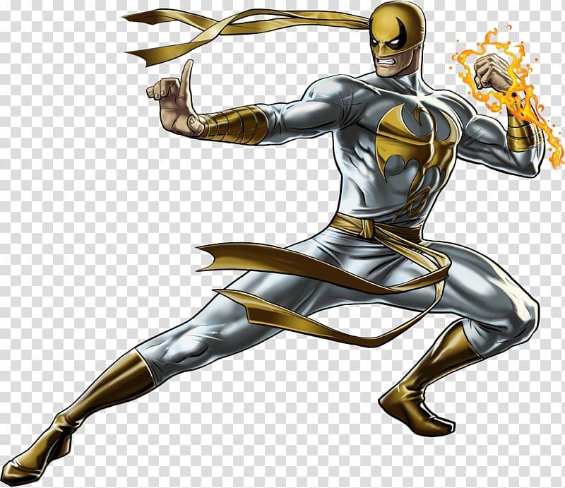 Iron Fist Marvel: Avengers Alliance Luke Cage Iron Man.