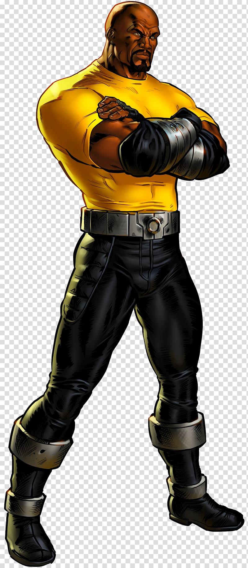 Samuel L. Jackson Luke Cage Marvel: Avengers Alliance Marvel.
