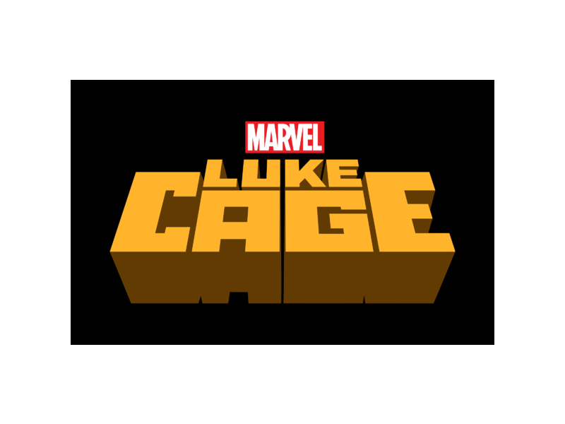 Marvel\'s Luke Cage Logo PNG Transparent & SVG Vector.