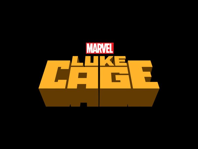Marvel's Luke Cage Logo PNG Transparent & SVG Vector.