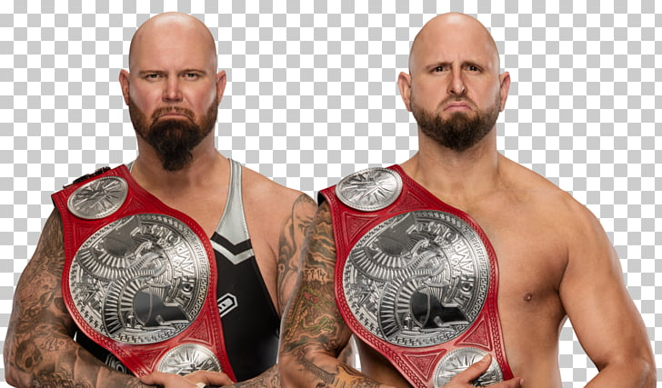 Luke Gallows Karl Anderson Gallows and Anderson WWE Raw WWE.