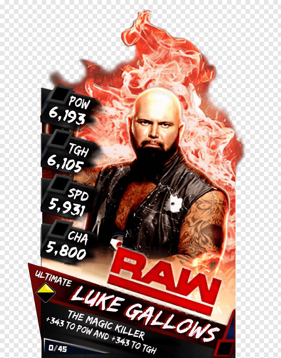 Luke Gallows cutout PNG & clipart images.